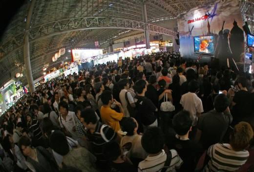 『東京ゲームショウ2007』では、9万人のオタクたちが1つの建物に集結