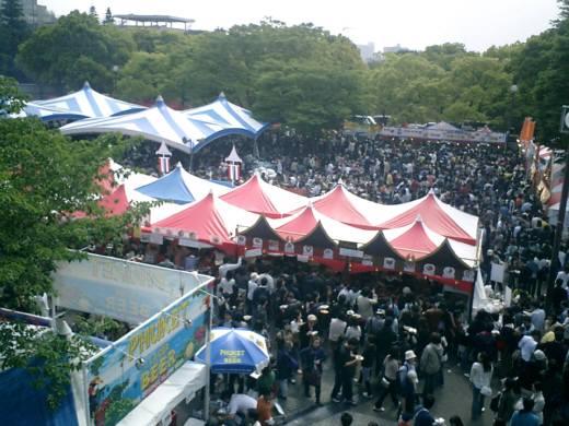 同じ代々木公園で行われたタイフェスティバル20万人