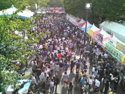 2007年5月13日から14日まで毎年恒例の東京・代々木公園のタイフェスティバル