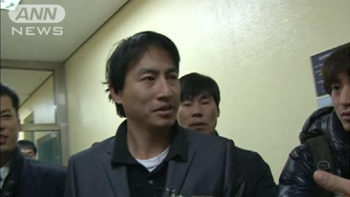 ソウルの日本大使館に火炎瓶投げた支那人