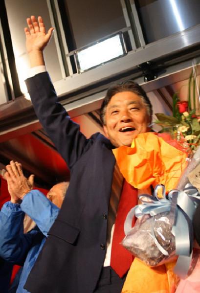 名古屋市長選挙当選、河村たかし2009年4月