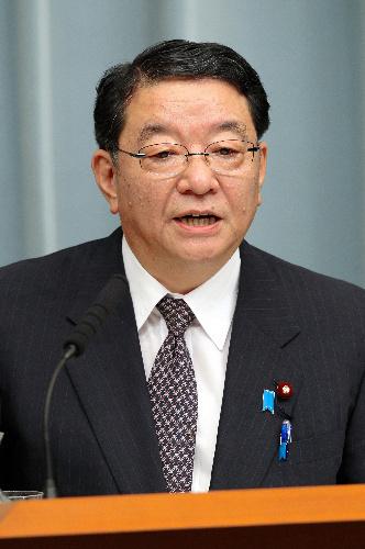 藤村官房長官「非戦闘員の殺害、略奪行為あった」 村山元首相談話の踏襲表明