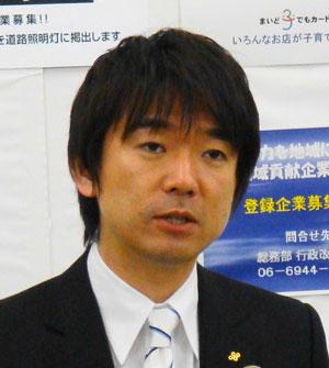 大阪市の橋下徹市長