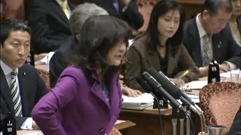 2012年3月16日参院予算委員会 質疑者:片山さつき