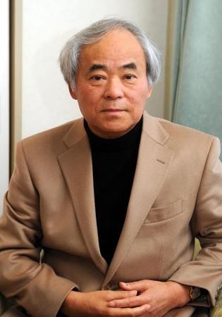 「はだしのゲン」の作者でマジキチ反日異常者の中沢啓治=広島市中区で2012年1月25日撮影