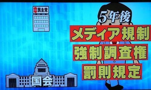 「小さく生んで大きく育てる作戦なのでは?」2011年8月22日「ビートたけしのTVタックル」人権侵害救済法案
