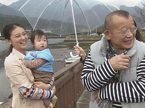 NHK「鶴瓶の家族に乾杯」で屋久島へ旅をした武井咲と笑福亭鶴瓶