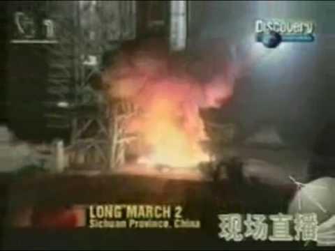 (支那)長征ロケット打ち上げの黒歴史