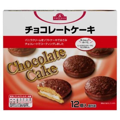 トップバリュ チョコレートケーキ