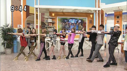 2012年5月1日、日テレ スッキリ!! T-ARA生出演!
