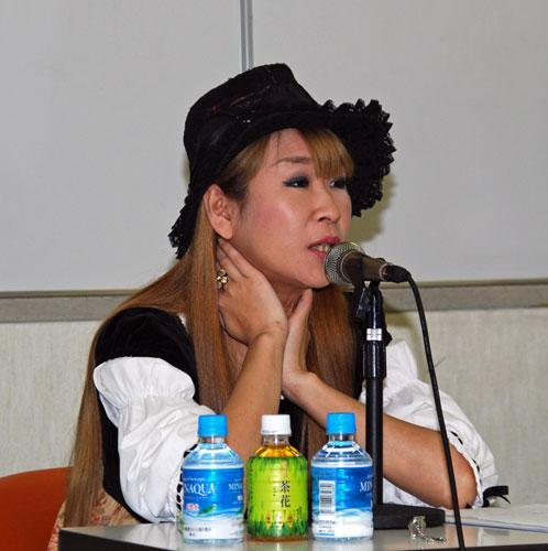 雨宮処凛って、連合大阪法曹団の第7回総会で行われた「ワーキングプアの拡大に労働組合はなにをすべきか?」と題したトークセッションで、朝鮮学校の違法行為を弁護する反日悪徳弁護士の普門大輔と一緒に出ていた馬