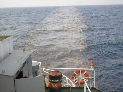 韓国の海洋廃棄(海への家畜糞尿、下水汚泥ゴミ投棄)についての画像