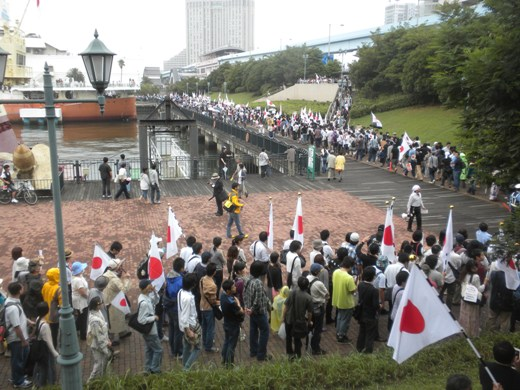「8・21フジテレビ韓流ゴリ押し・偏向報道抗議デモ」にお台場騒然!