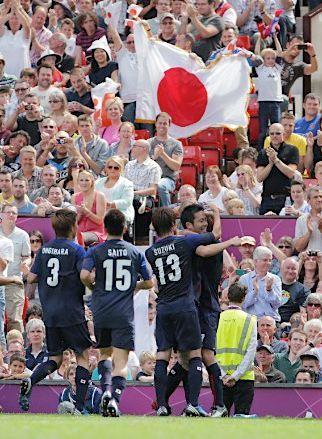 永井!吉田!大津!日本3発で44年ぶりベスト4進出 ロンドン五輪エジプト戦勝利