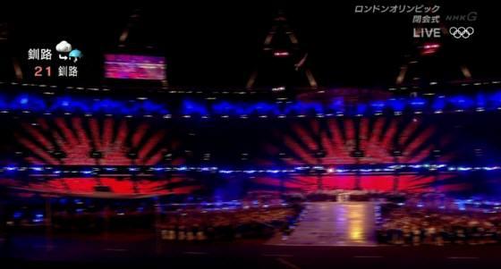 しかし、この体操のユニフォームにまでイチャモンをつけ始めたら、ロンドン五輪の閉会式はどうする?