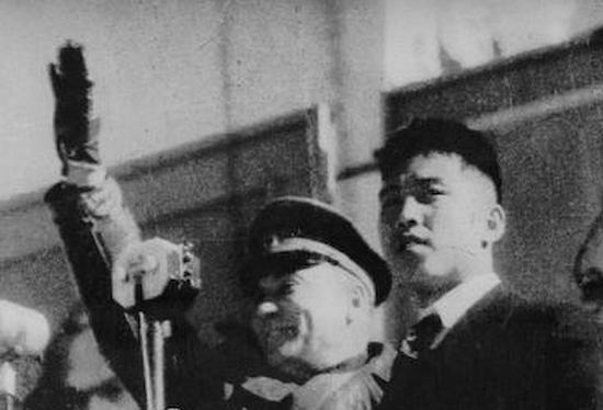 後継人のソ連軍司令官ロマネンコ小将と金日成