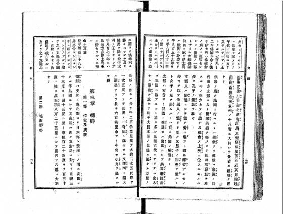 (8) 1891年 谷口流鶯「受験応用万国小地誌」 130度