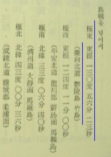 (68) 1948年 崔南善「朝鮮常識」 130度56分23秒★
