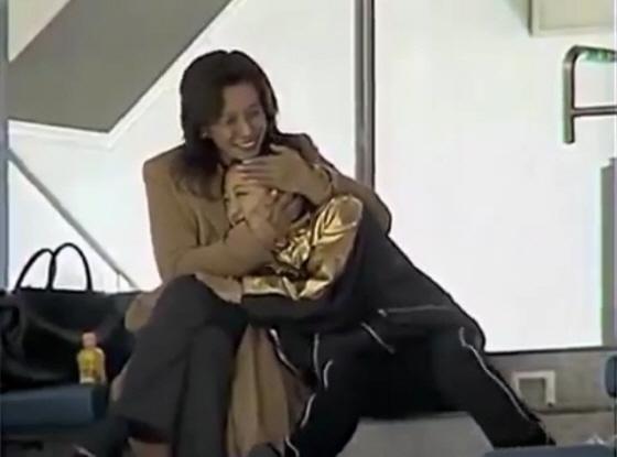 浅田真央選手とお母さん匡子さん