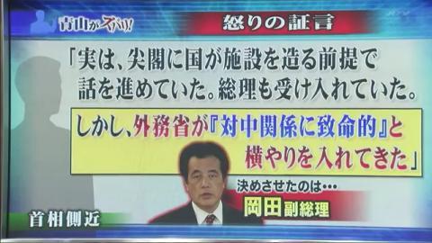 「決めさせたのは、岡田副総理」