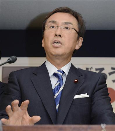 自民党の石原伸晃幹事長