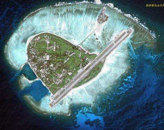 支那がベトナムから武力で奪ったウッディー島(永興島)