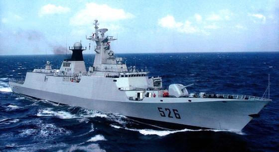 中国海軍054型フリゲート(江凱型)