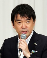 橋下徹・大阪市長=幾島健太郎撮影