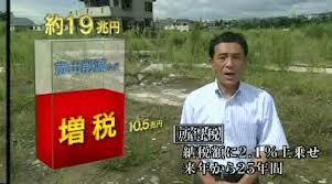NHKスペシャル『シリーズ東日本大震災 追跡 復興予算 19兆円』