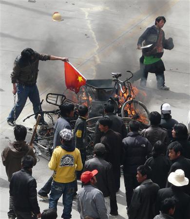 2008年に起こったチベット独立運動
