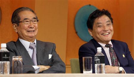太陽の党との合流に関し、維新の会の橋下代表は、減税日本は加わらないとの認識を示す。