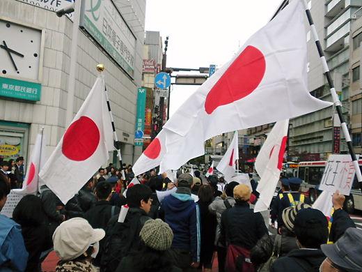 5期花王デモ2012年11月25日(日)
