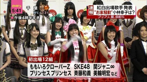 ももクロ「第63回NHK 紅白歌合戦」出場決定!