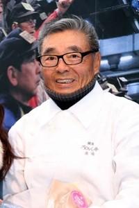 東京都中央卸売市場の「TOKYO ICHIBA PROJECT」キックオフセレモニーに登場した道場六三郎さん