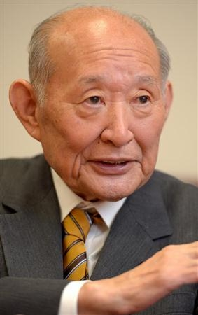 民主党の藤井裕久最高顧問