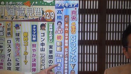 12月9日TBS「サンデーモーニング」キムヨナ