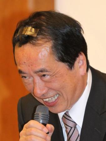 画像 負傷した菅前首相