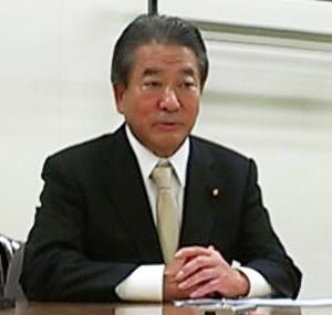 三井辨雄(みつい・わきお)厚生労働大臣