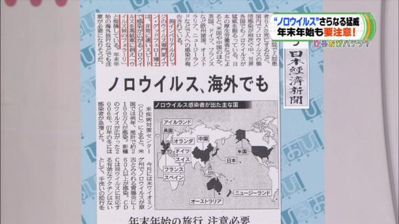 ひるおびTBSもとくダネ!と同じく日経新聞の地図を採用