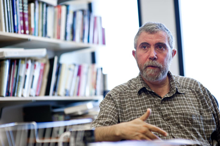 独占インタビュー ノーベル賞経済学者 P・クルーグマン 「間違いだらけの日本経済考え方がダメ」