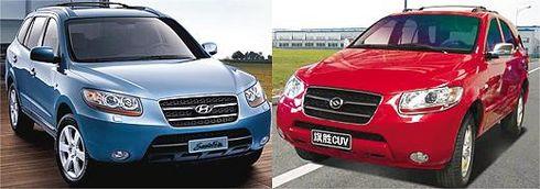 ヒュンダイのロゴマーク「H」は、日本のホンダとそっくりで、デザインも日本車と似ている
