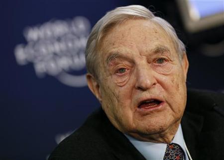 米著名投資家ソロス氏、通貨戦争は「最大の危険」