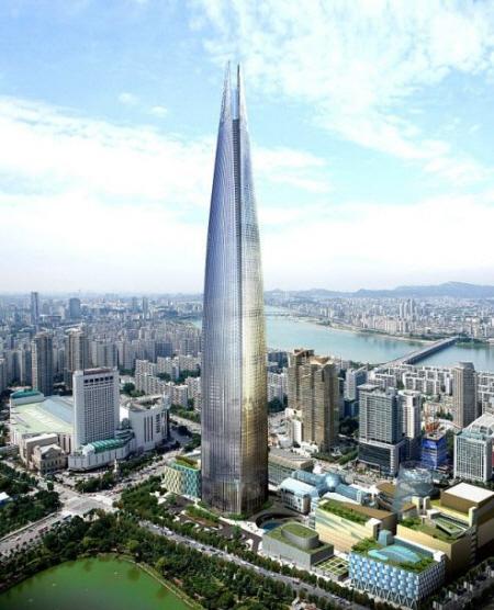 韓国ソウルの「第2ロッテワールド」完成予想図