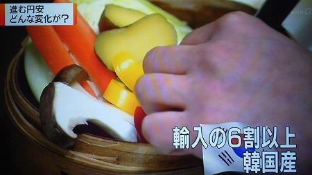 日本のパプリカ輸入量の60%は韓国産