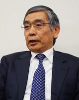 アジア開発銀行の黒田東彦総裁=三沢耕平撮影