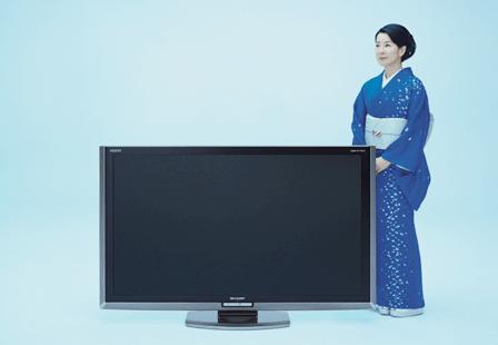 シャープ「aquos」(吉永小百合)