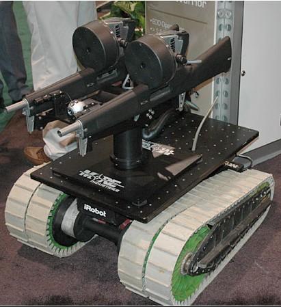 戦闘用ロボット