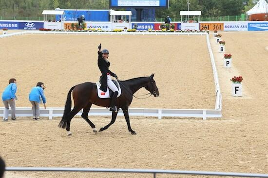仁川アジア大会 韓国、音楽で日本馬術選手を妨害