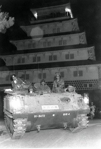 1992年雲仙普賢岳噴火災害派遣