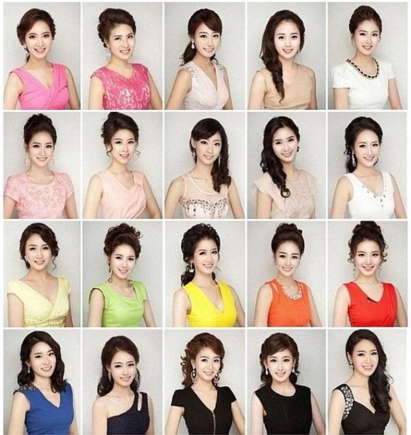 「美容術の結果、みんな同じような顔になってしまった」という問題提起があり